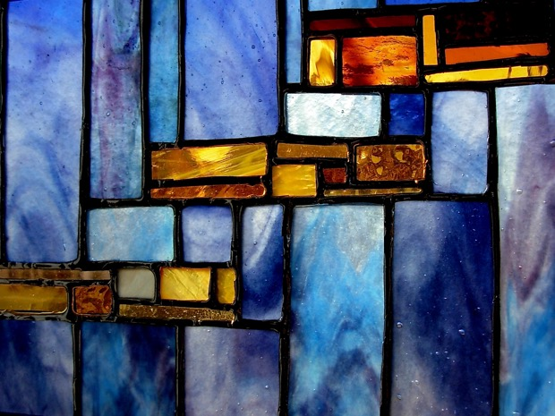 Stained Glass panel by Wayne Stratz