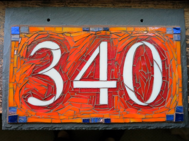 Custom House Number in Your Colors