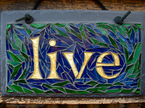 Live Mosaic by Nutmeg Designs.