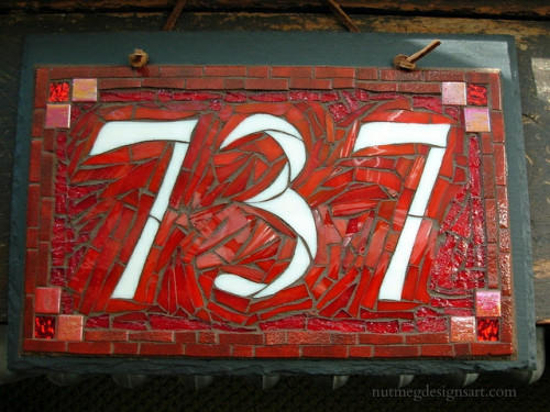 House Number 737 by Nutmeg Designs