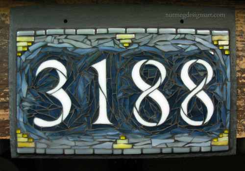House Number 3188 by Nutmeg Designs.