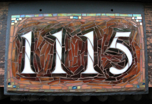 House Number 1115 by Nutmeg Designs
