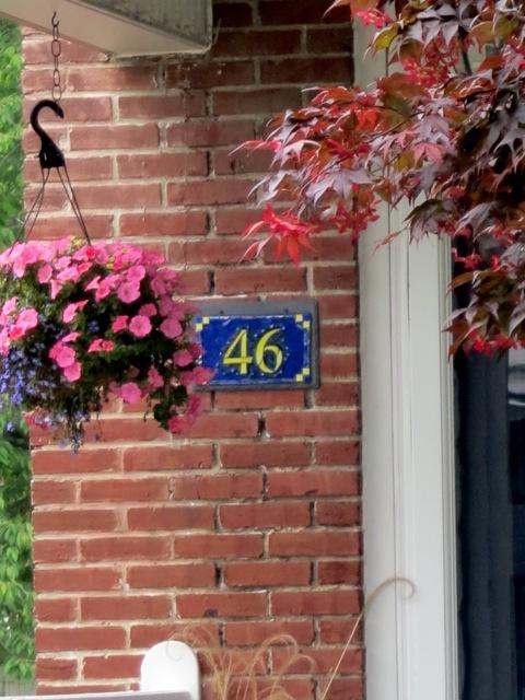 Nutmeg Designs House Number 46