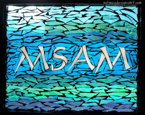 MSAM Sign by Nutmeg Designs