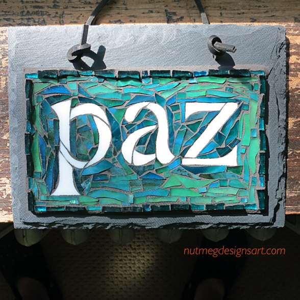 two moments in time with paz, our first Spanish word