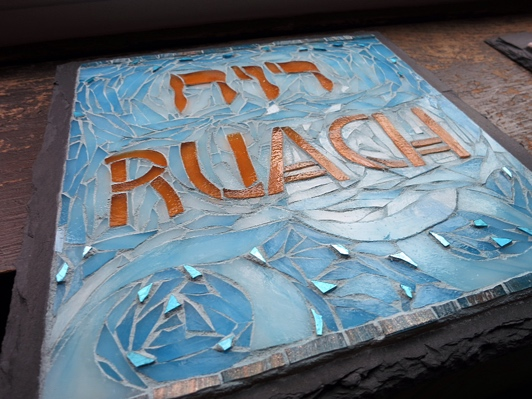 two new words emerge to enter a house of peace: Ruach & Listening.