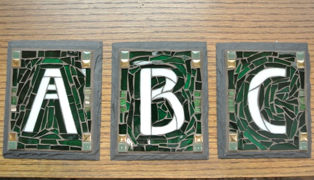 House Letters for a Craftsman Bungalow Court in California