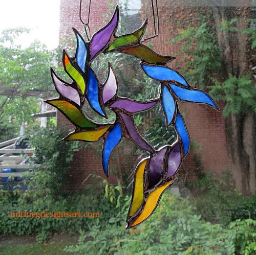 Jazz doodling with glass: Inspired by Gregory Porter. by Wayne Stratz