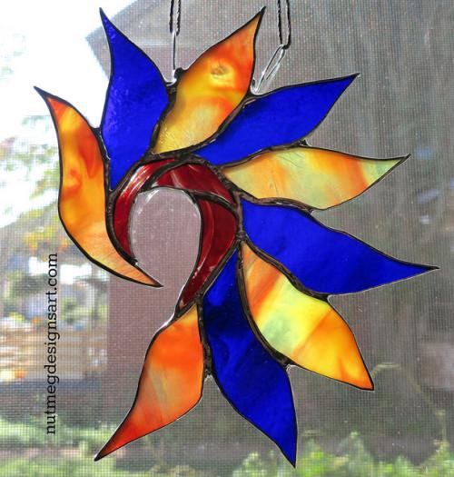 Jazz doodling with glass: Inspired by Vijay Iyer. by Wayne Stratz