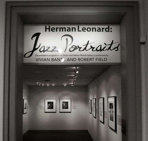 Michener Museum Features Jazz Portraits by Herman Leonard