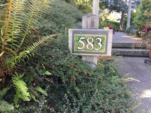 Green Number in the Greenery by Nutmeg Designs.