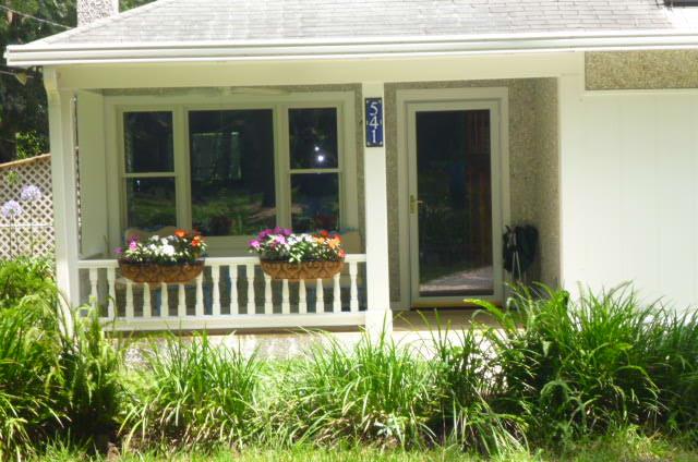Aegean House Number for a Georgia Island beach house