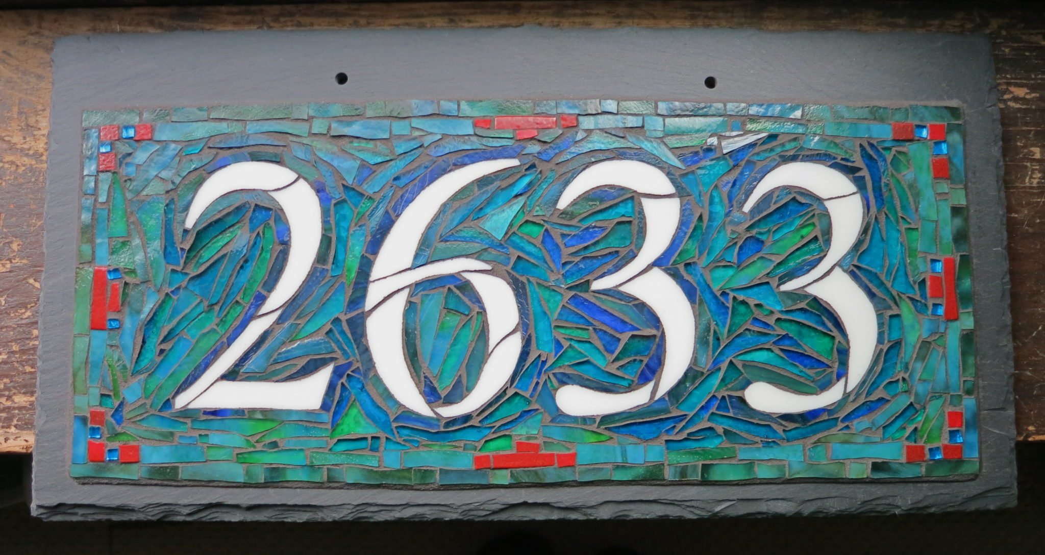Emily Carr Colorway for Nutmeg Designs House Number