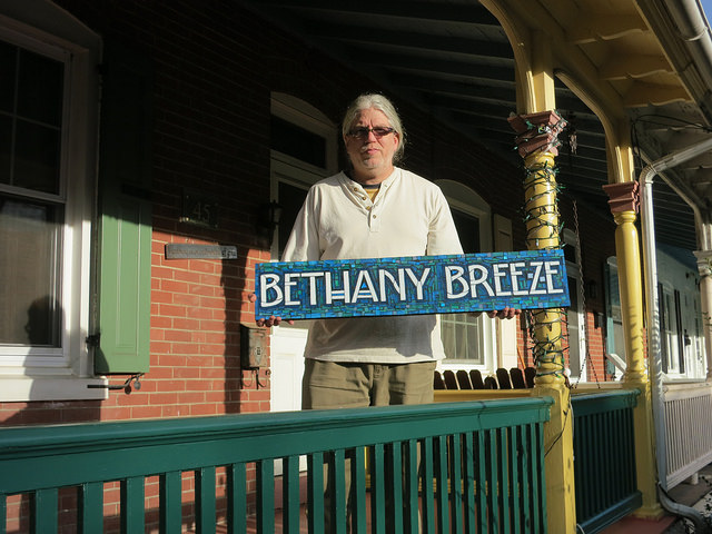 Bethany Breeze Beach House Name Sign