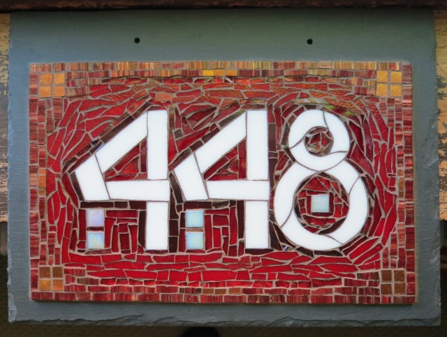 Nutmeg Designs House Number 448