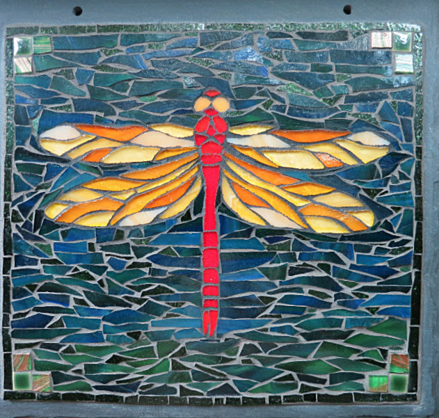 Dragonfly Mosaic by Nutmeg Designs