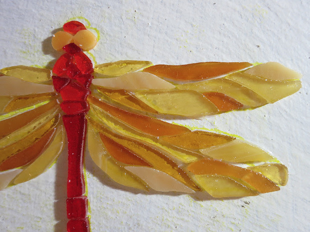 Dragonfly in Progress from Nutmeg Designs