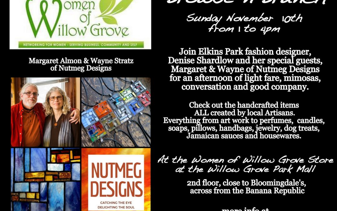 Browse & Brunch at the Women of Willow Grove Store at the Willow Grove Mall, November 10th, 2019